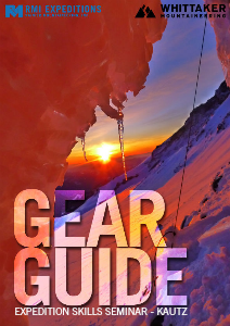 RMI and Whittaker Mountaineering Gear Guides Expedition Skills Seminar - Kautz