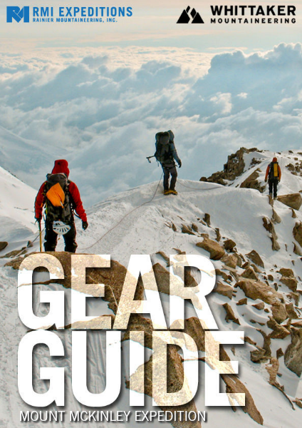 RMI and Whittaker Mountaineering Gear Guides Mount McKinley Expedition