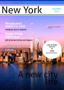 A trip to New York November 27, 2013