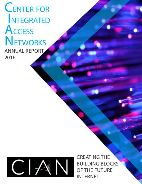 CIAN 2016 Annual Report CIAN 2016 Annual Report