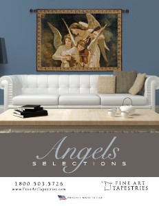 PCI Fine Art Tapestries-Angel Selections 2013