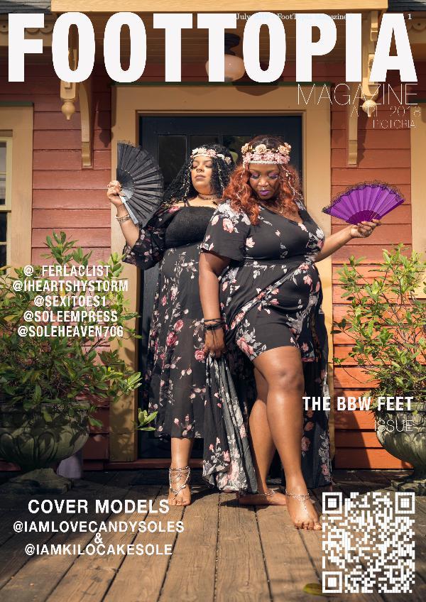 Foottopia Magazine BBW Feet Issue BBW FEET April 2018 Magazine