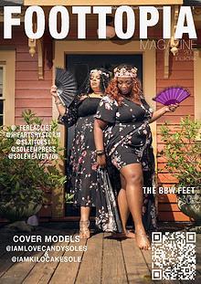 Foottopia Magazine BBW Feet Issue