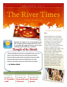 The River Times Volume I