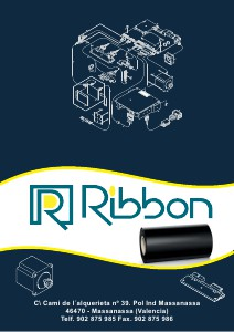 Ribbon SL - Catalogo de productos 1