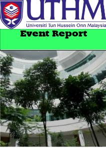 Event Report Nov.2013