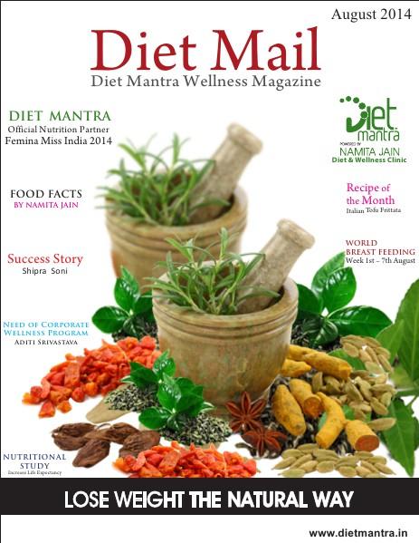 Diet Mail- August 2014