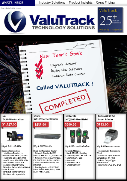 ValuTrack Jan-Feb 2014