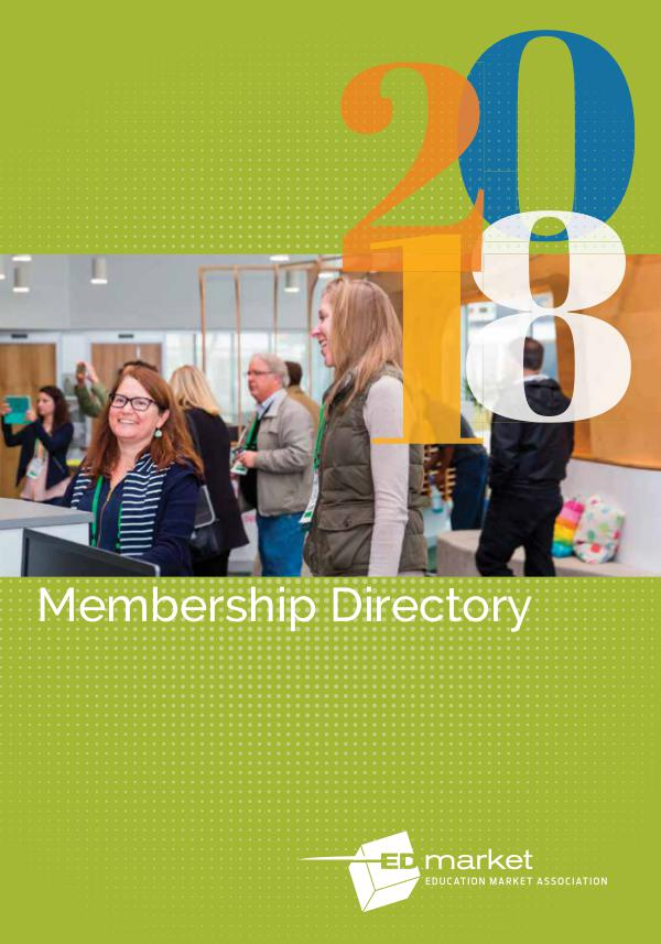 2018 EDmarket Membership Directory 2018 EDmarket Directory
