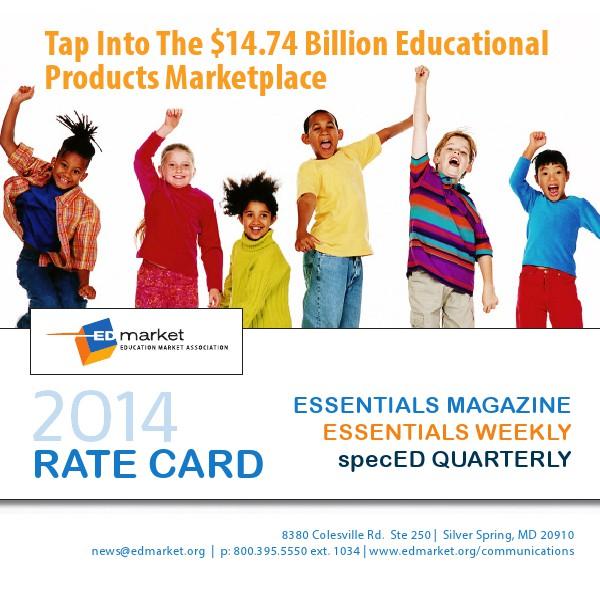 EDmarket 2014 Rate Card Jan 2014