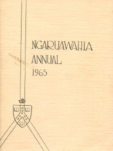 Ngaruawahia High School Yearbooks 1965-1993 Ngaruawahia High School Yearbook 1965