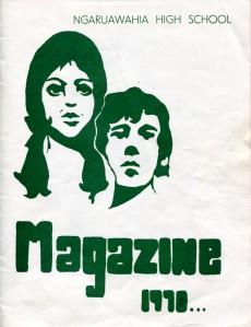 Ngaruawahia High School Yearbook 1970