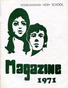 Ngaruawahia High School Yearbook 1971