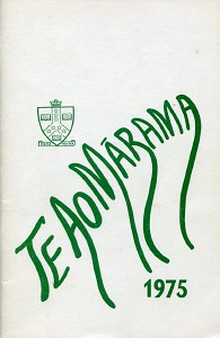 Ngaruawahia High School Yearbooks 1965-1993