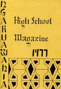 Ngaruawahia High School Yearbook 1977