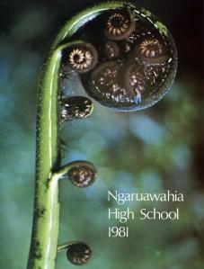 Ngaruawahia High School Yearbooks 1965-1993 Ngaruawahia High School Yearbook 1981
