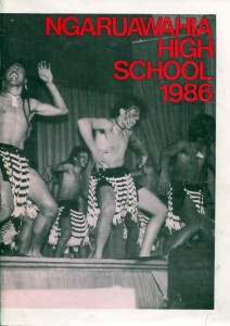 Ngaruawahia High School Yearbook 1986