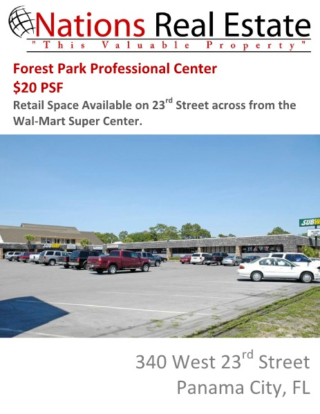 Nations Real Estate Portfolio of Properties Forest Park Professional Center, Panama City, FL