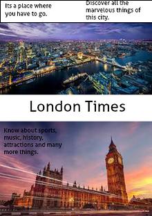London Times Magazine