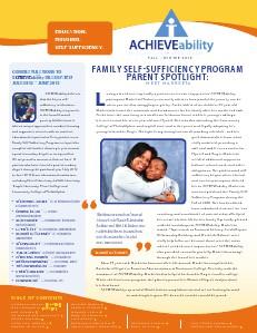 ACHIEVEability Fall-Winter 2013 Newsletter Nov. 2013