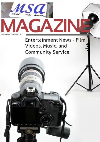 MSA - Today! November Issue 2013