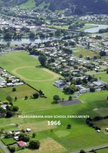 Ngaruawahia High School Enrolments 1963-2012 Ngaruawahia High School Enrolments 1966