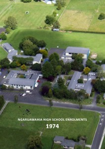 Ngaruawahia High School Enrolments 1963-2012 Ngaruawahia High School Enrolments 1974