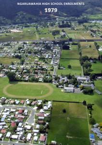 Ngaruawahia High School Enrolments 1963-2012 Ngaruawahia High School Enrolments 1979