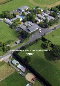 Ngaruawahia High School Enrolments 1963-2012 Ngaruawahia High School Enrolments 1987