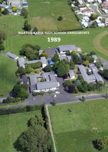 Ngaruawahia High School Enrolments 1963-2012 Ngaruawahia High School Enrolments 1989