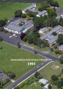 Ngaruawahia High School Enrolments 1963-2012 Ngaruawahia High School Enrolments 1993