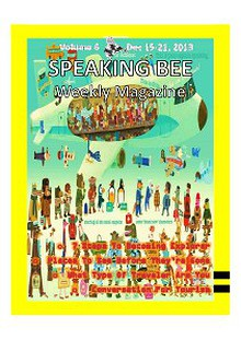 Speaking Bee Weekly Magazine Volume 6