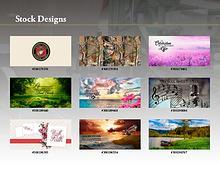 FHG Cap Panel Stock Designs
