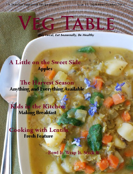 Veg Table September/October, Issue #5