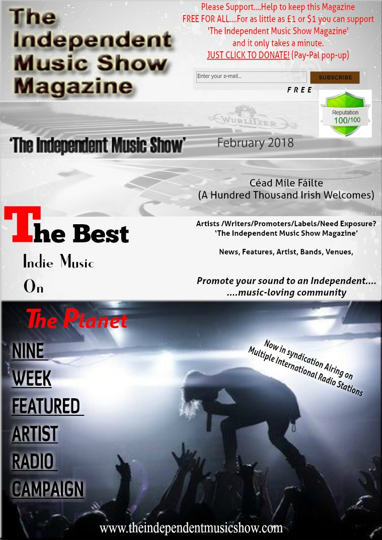 'The Independent Music Show Magazine' February 2018