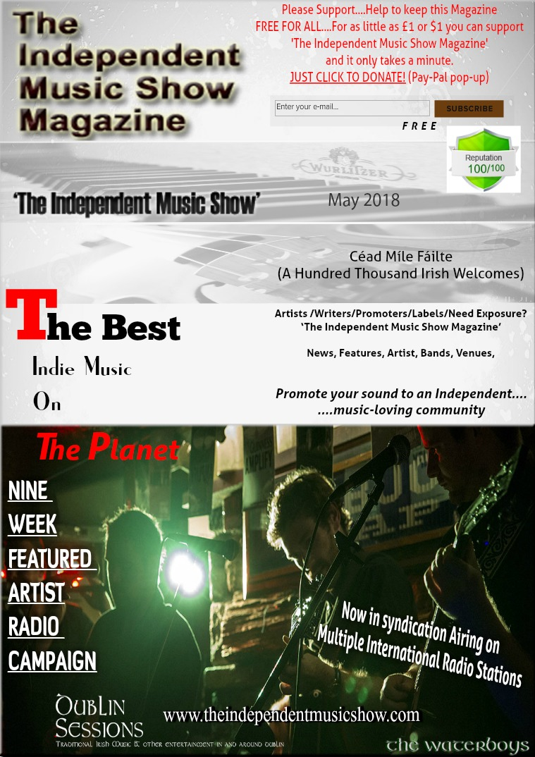 'The Independent Music Show Magazine' May 2018