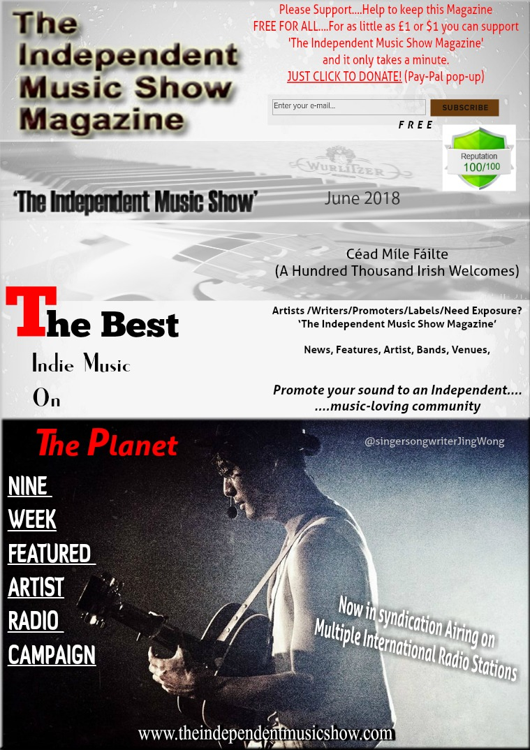 'The Independent Music Show Magazine' June 2018