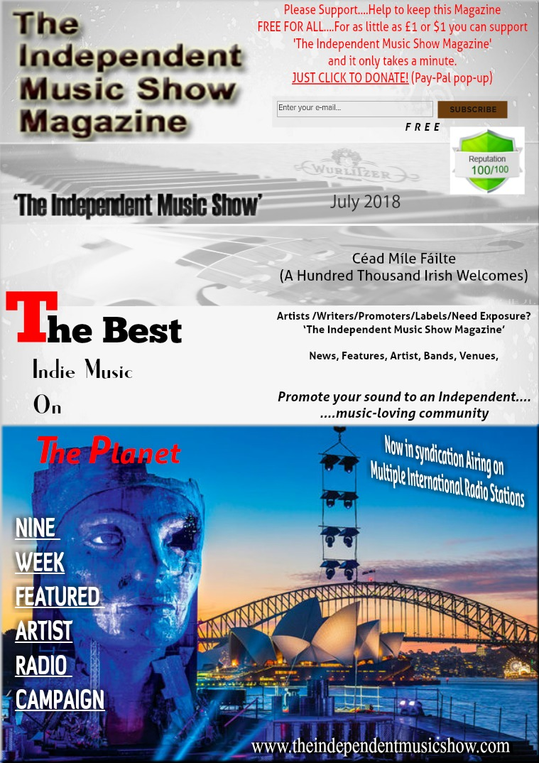 'The Independent Music Show Magazine' July 2018