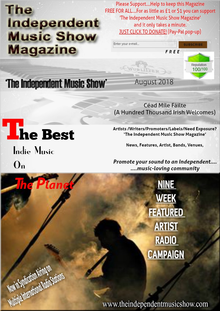 'The Independent Music Show Magazine' August 2018