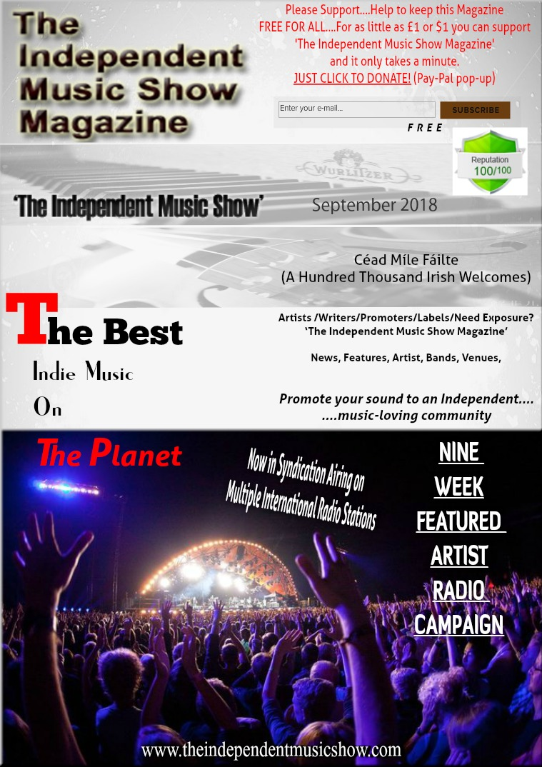 'The Independent Music Show Magazine' September 2018