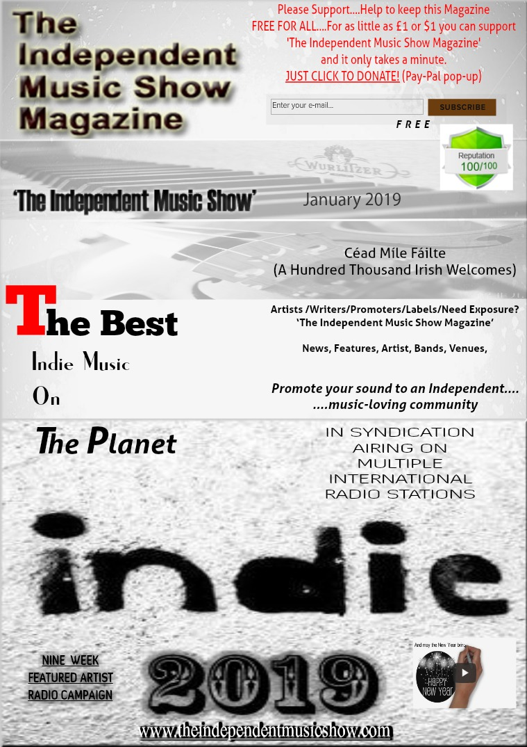 'The Independent Music Show Magazine' January 2019