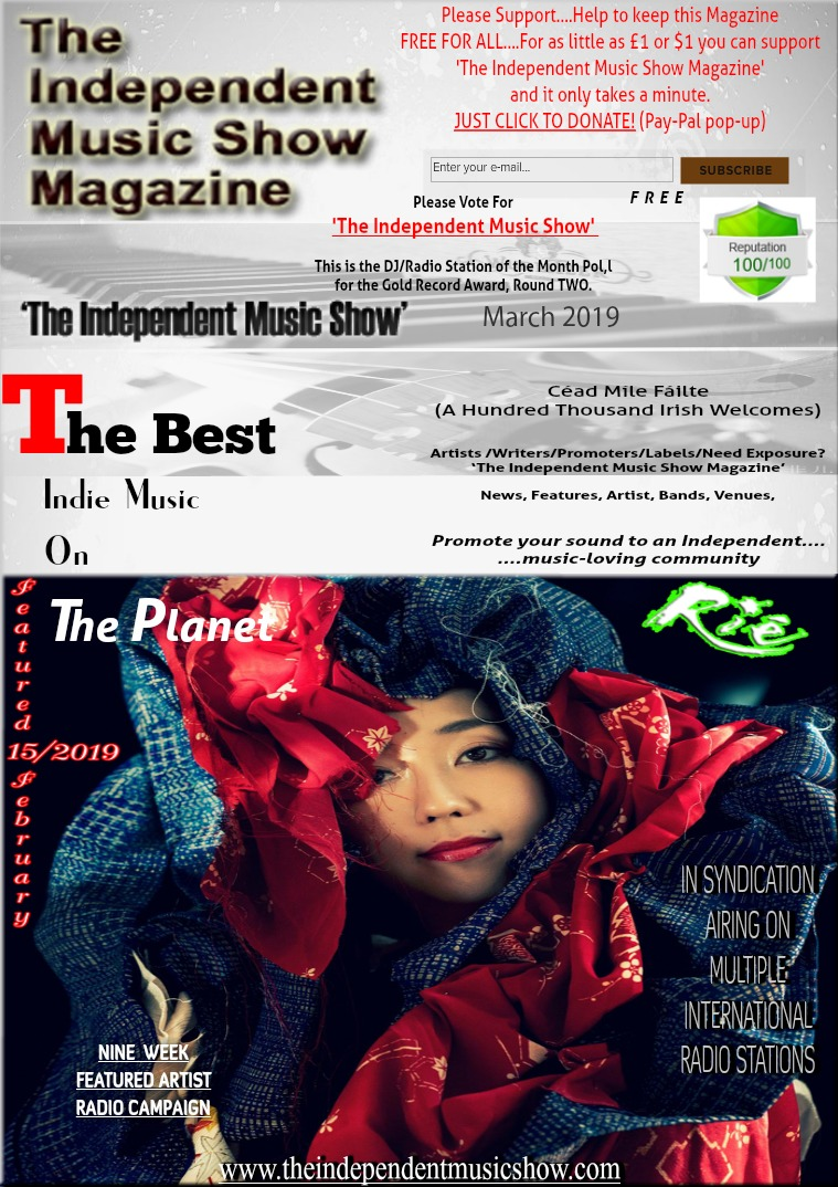 'The Independent Music Show Magazine' March 2019