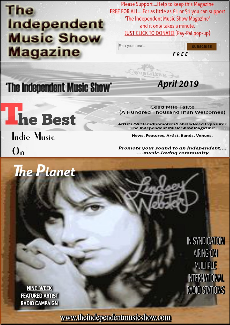 'The Independent Music Show Magazine' April 2019