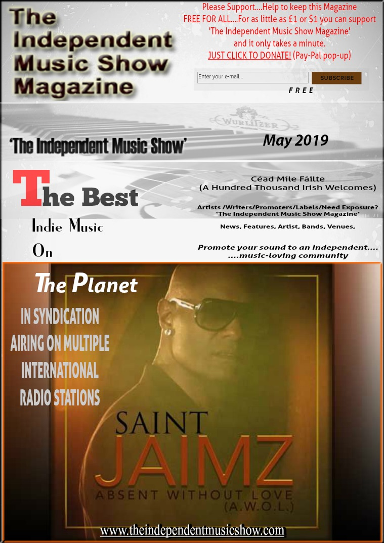'The Independent Music Show Magazine' May 2019