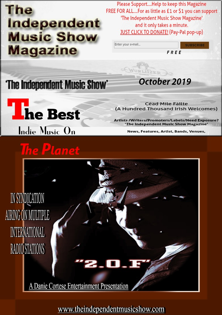 'The Independent Music Show Magazine' October 2019