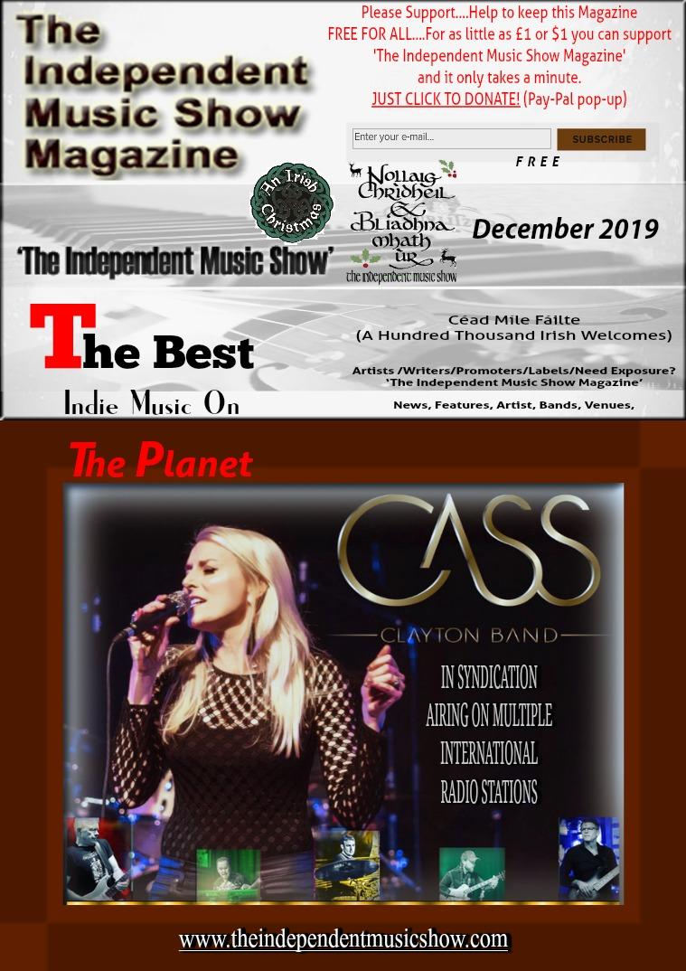 'The Independent Music Show Magazine' December 2019