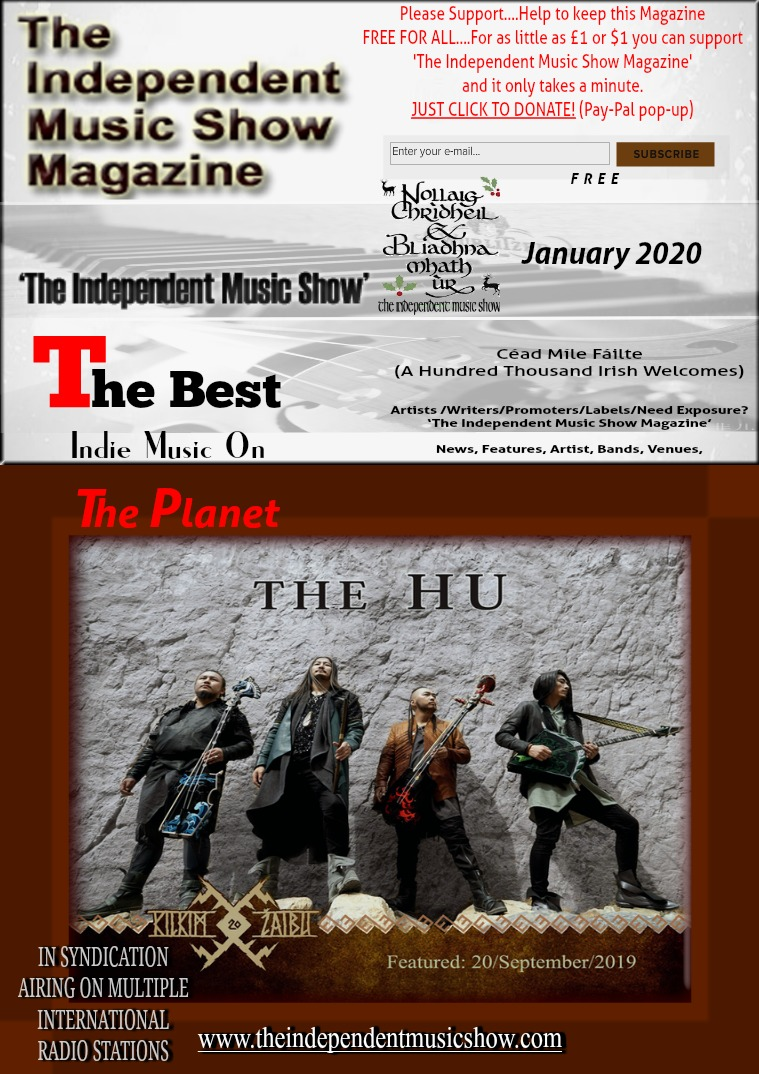 'The Independent Music Show Magazine' January 2020