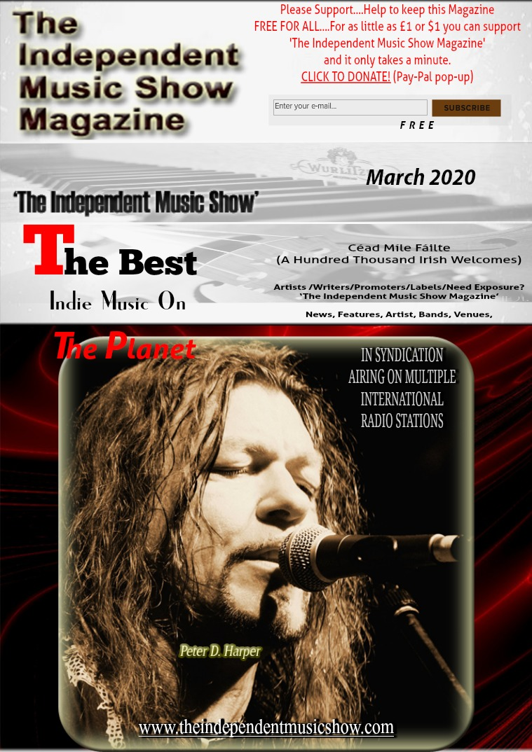 'The Independent Music Show Magazine' March 2020
