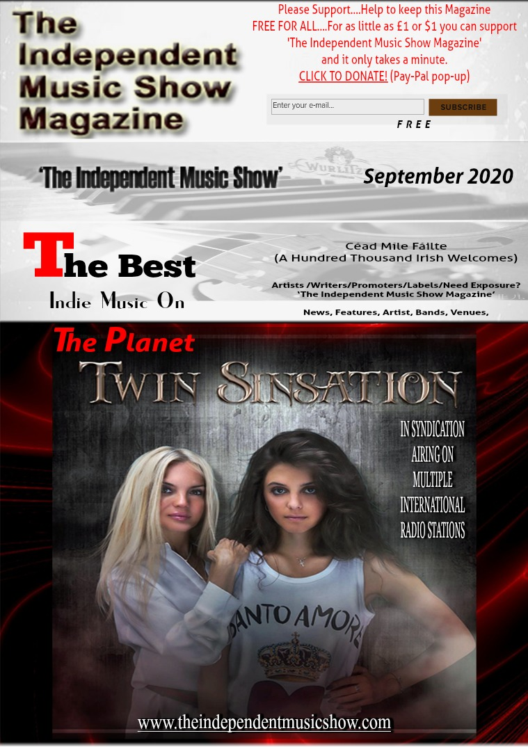 'The Independent Music Show Magazine' September 2020