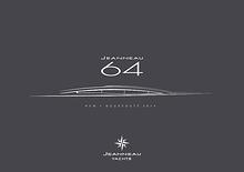 Marketing book for Jeanneau 64